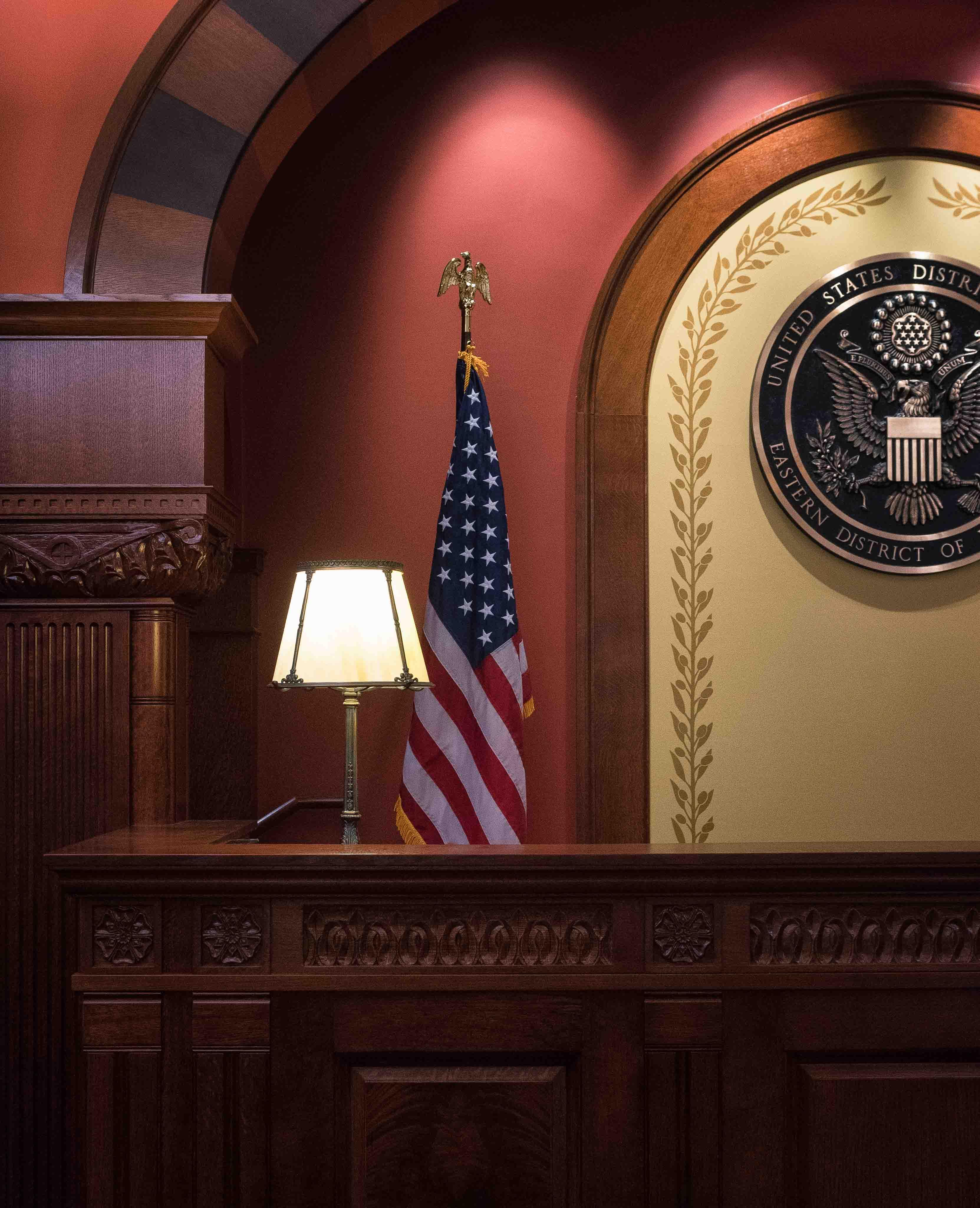 Milwaukee USCH Courtroom Renovations