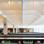 Skokie public library renovation interiors Illinois